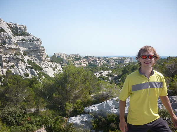 Interview with a Traveler @AJWaltonTravel - AJ Walton - biking in Provence, France