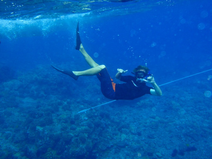 Interview with a Traveler @AJWaltonTravel - AJ Walton - snorkel hawai'i
