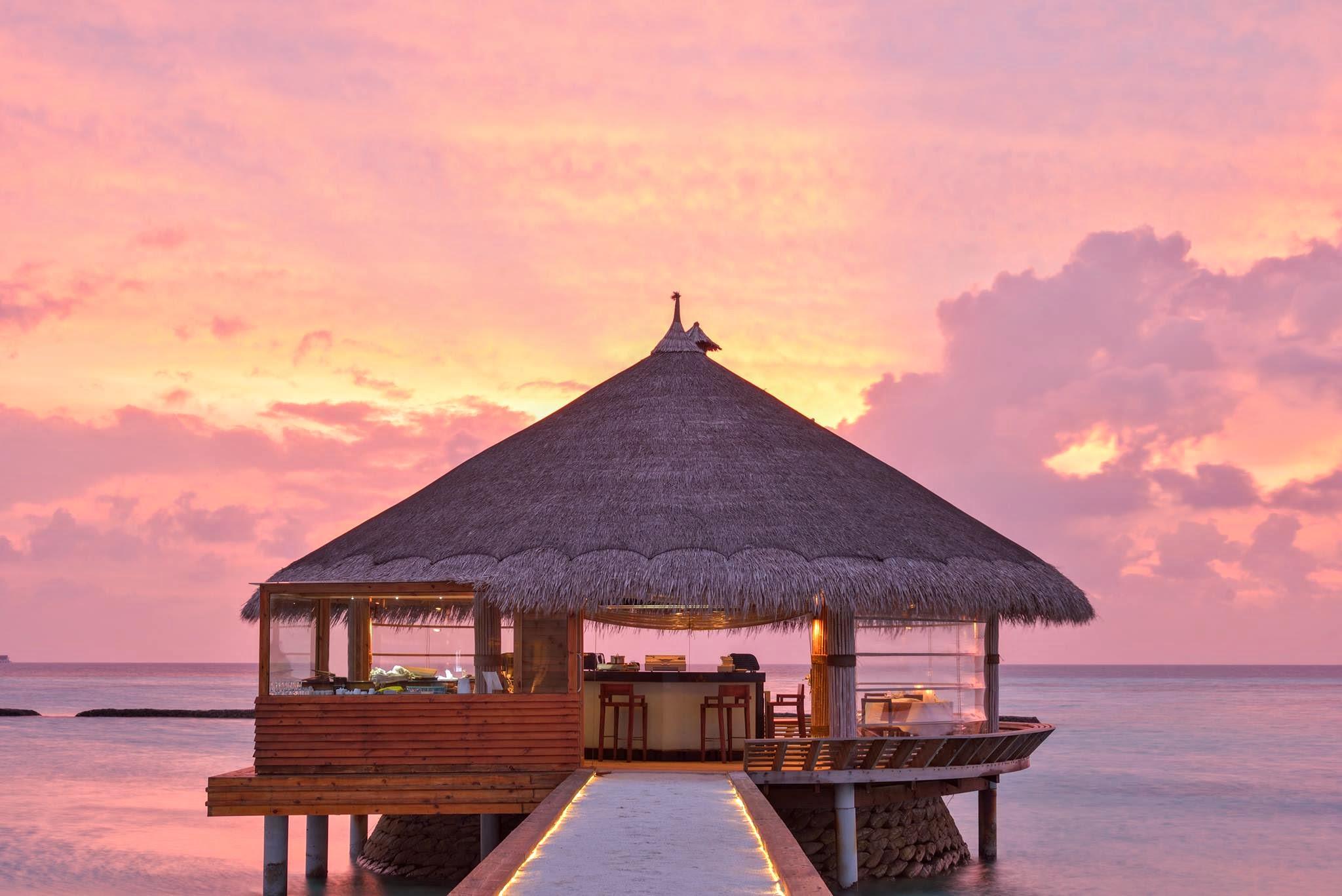 Maafushivaru – A Unique Maldives Paradise - Teppanyaki-and-Sushi-restaurant-Maafushivaru