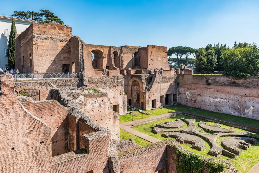Palatine Tour 2 - Stadium of Domitian