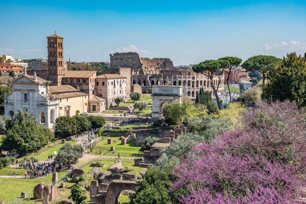 Roman Forum Tour 2 - View from Palatine
