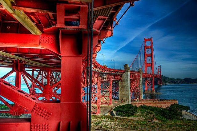 Sightseeing in San Francisco - Bridge
