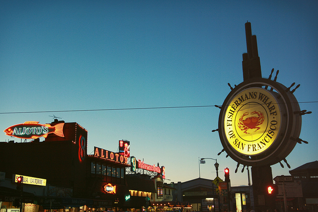 Sightseeing in San Francisco - Fishermans Wharf